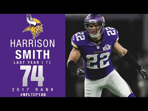 #74: Harrison Smith (S, Vikings) | Top 100 Players of 2017 | NFL