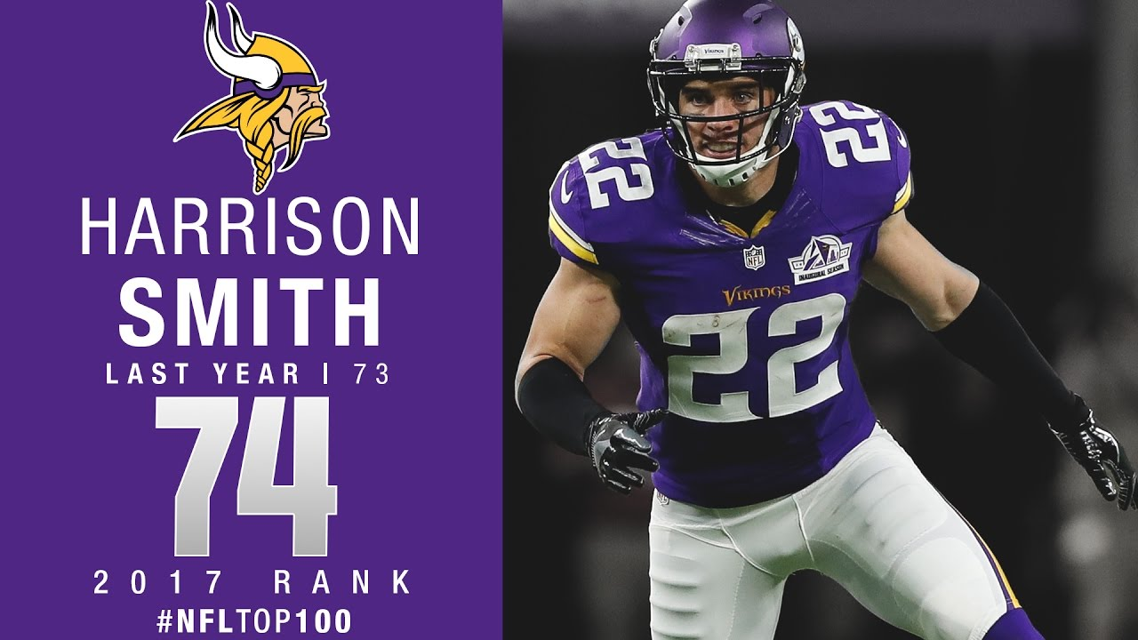 74 Harrison Smith S Vikings Top 100 Players of 2017