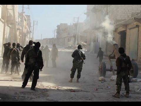 أخبارعربية Arabic news - بالفيديو: مقاتل داعشي يصور لحظة مقتله