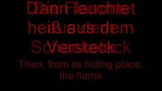 rammstein-Feuer und Wasser