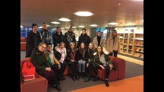 Российские ученики на экскурсии в Шведском ВУЗе