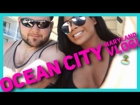 Ocean City, Maryland Vacation Vlog! | Jade Ponce