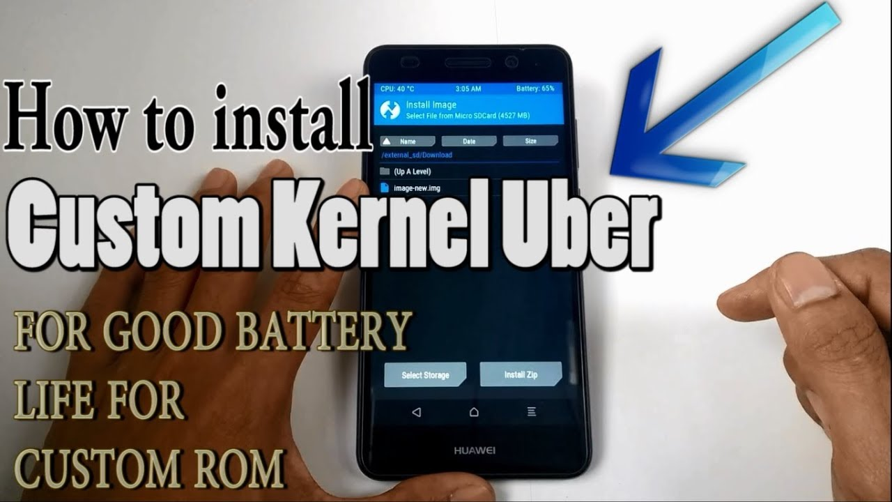 How to install CUSTOM KERNEL in Android Device (For Good Battery Life)