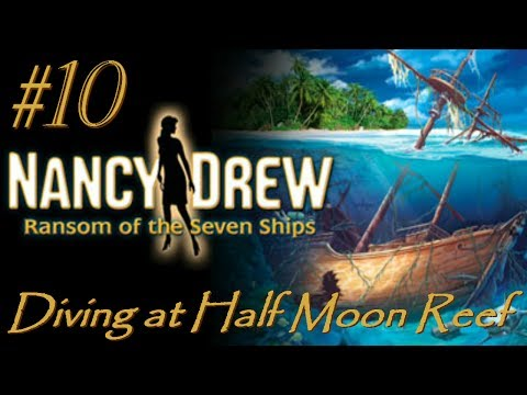 NANCY DREW WALKTHROUGH - Ransom of the Seven Ships (10) - Diving at Half Moon Reef