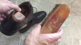 Caring for Shell Cordovan Shoes
