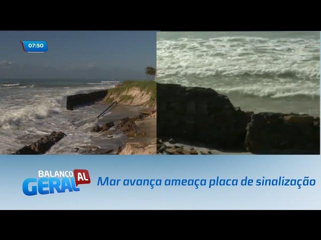 07 Mar avança e agora ameaça placa de sinalização   Balanço Geral AL   22092020