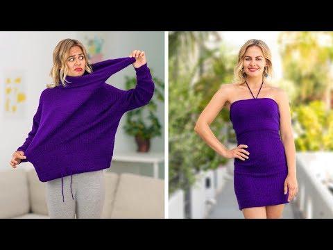 حيل ملابس سهلة للفتيات - أفكار رائعة يمكنكي تنفيذها بنفسك مع 123 Go!