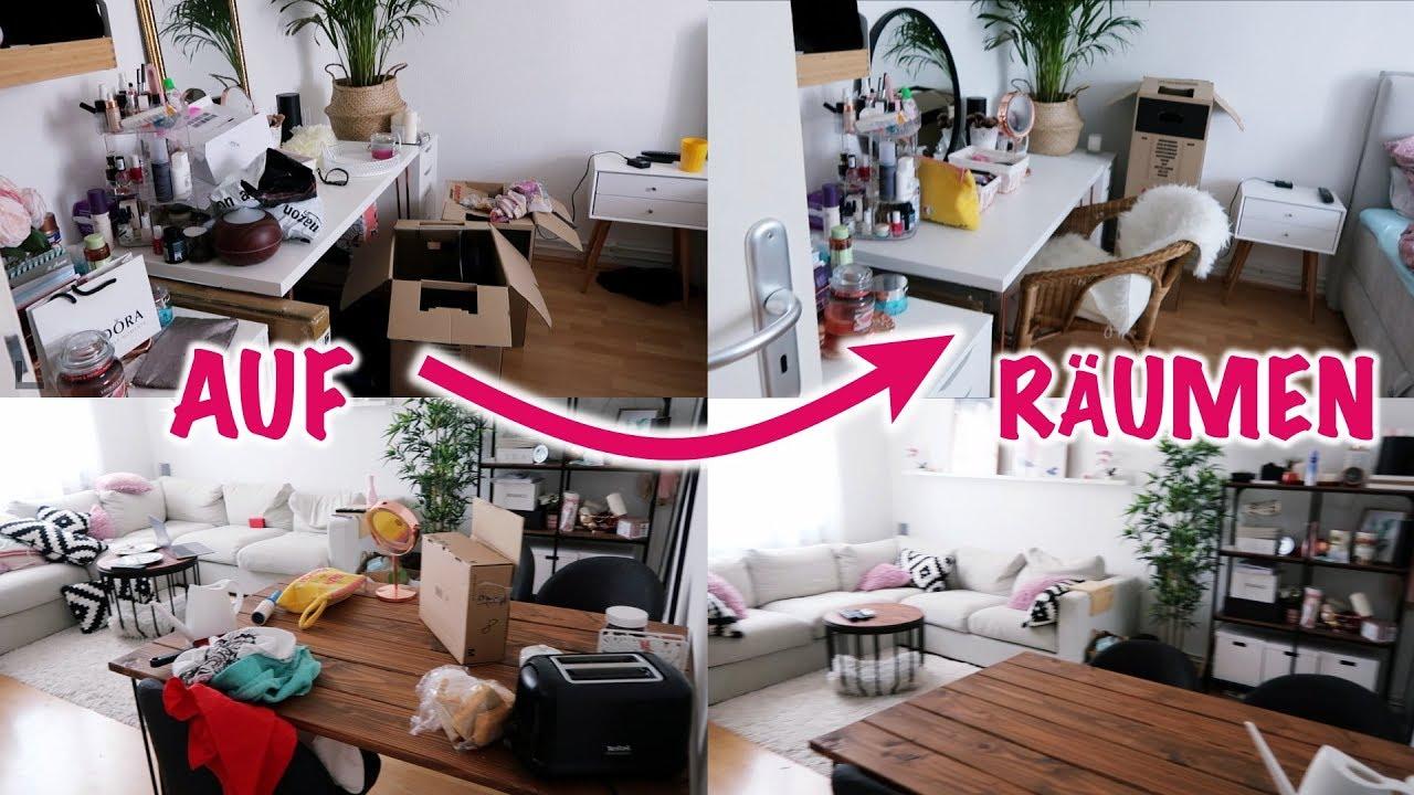 die ganze wohnung aufr umen nagelstudio vlog i meggyxoxo youtube. Black Bedroom Furniture Sets. Home Design Ideas