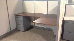 Used workstation inventory at Affordable Office Interiors