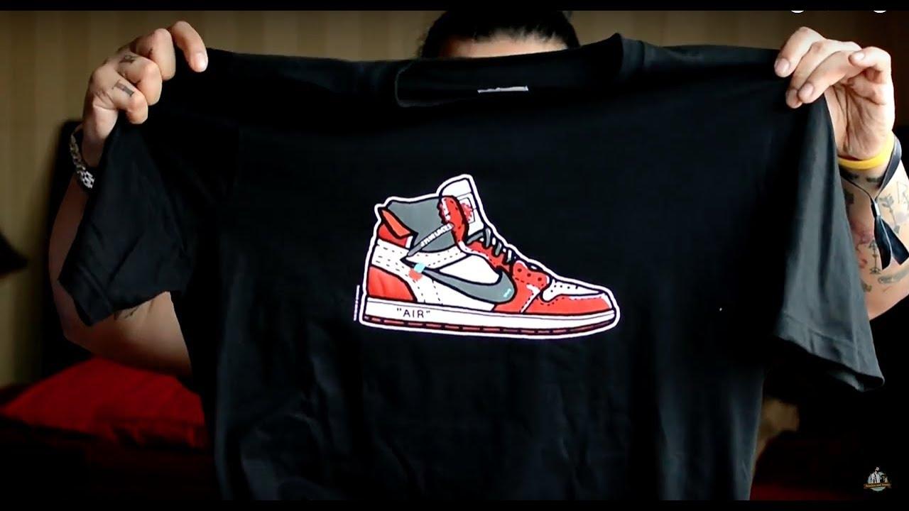 7c0078f500ad Off White Jordan 1 Tee + Jordan 1 Storm Blue - Urban Sneaker Society ...