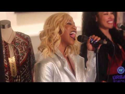 @Dondria joins Keke Wyatt in singing, MY FIRST LOVE  Dondria Nicole