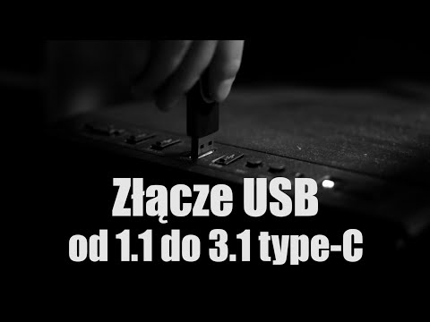 USB od 1.1 do USB 3.1 type C - ewolucja złącz i prędkości
