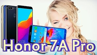 Honor 7A Pro (Хонор 7А про, Онор) Распаковка, обзор