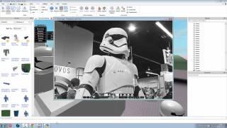 ROBLOX CSG Building - First Order Stormtrooper Speedbuild PART #1