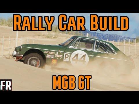 Forza Horizon 4 - Rally Car Build - MGB GT