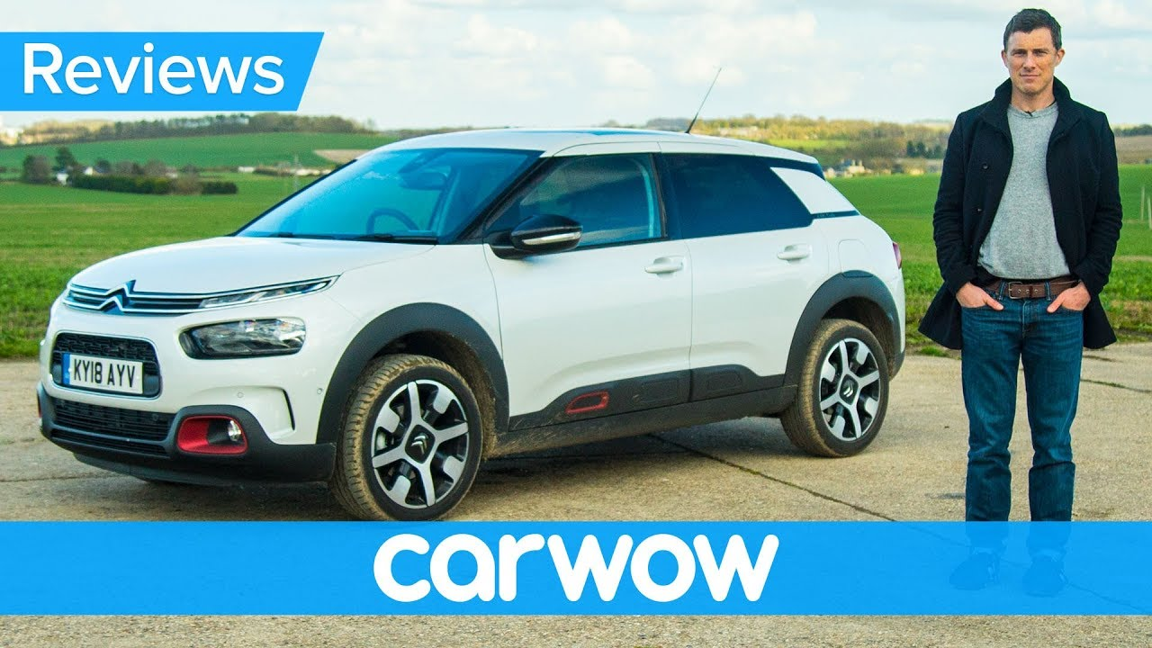 citroen c4 cactus 2018 suv in depth review carwow reviews youtube. Black Bedroom Furniture Sets. Home Design Ideas