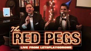 Thumbnail für Ain't That A Kick In The Head - Daniel und Michi aka The Red Pegs - Ausschnitt aus der Silvestergala