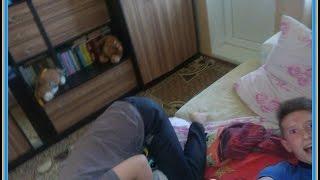 VLOG=_= Драка на Кровати#