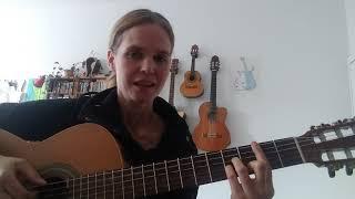"""DOTA - """"Sommer"""" - Gitarren Tutorial"""