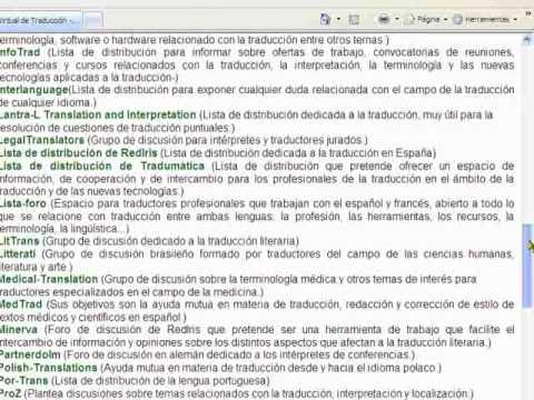 """""""Recursos terminológicos para la traducción. Aulaint parte VI: Blog"""""""