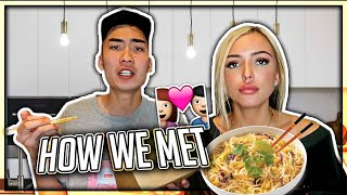 How I Met My Girlfriend STORY (ASIAN MUKBANG)