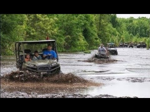 Polaris Ranger Mudding-DEEP HOLES AND TIGHT TRAILS