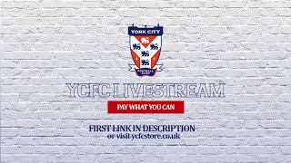 York City vs Brackley Town - National League North | LIVE