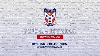 York City vs Brackley Town - National League North | LIVE