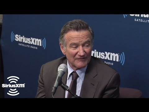 "Robin Williams ""Gus Van Sant, he's the greatest, so good"" // SiriusXM // Entertainment Weekly"