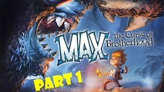 lets play max the curse of brotherhood part 1 the magic marker xbox 1