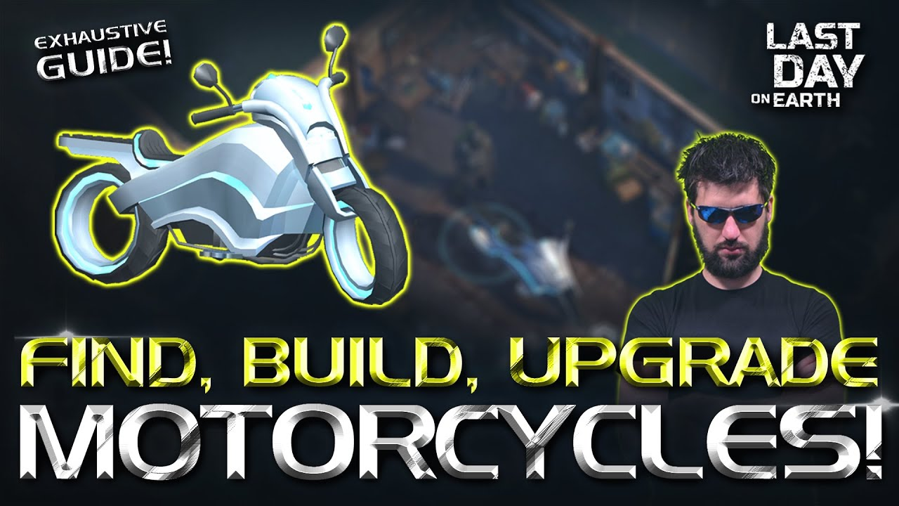 How to Get, Upgrade and Customize the Chopper Motorcycle in Last Day on Earth Survival