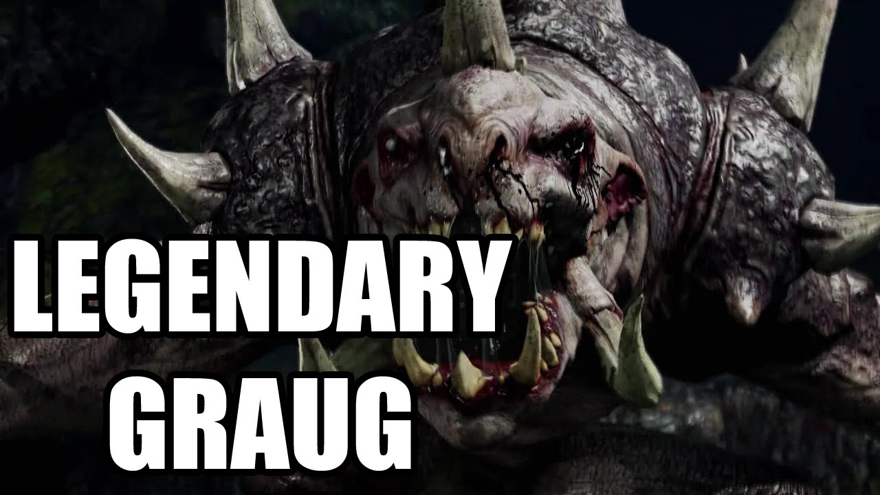 how to kill a graug shadow of mordor