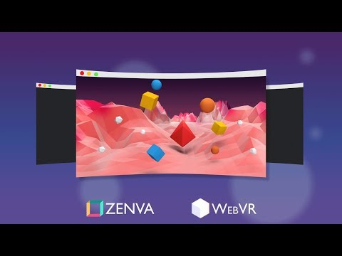 Introduction to Creating Virtual Reality Websites Using the A-Frame Library (WebVR)