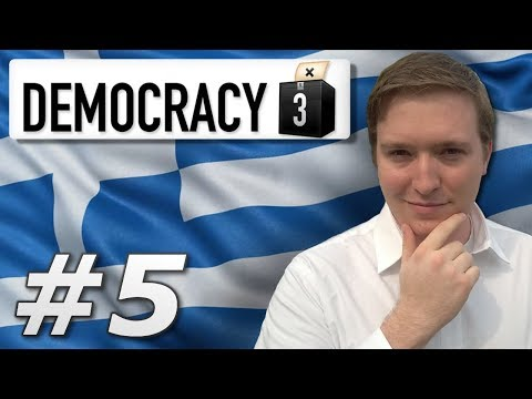 Democracy 3 | Max Difficulty Greece – Year 5