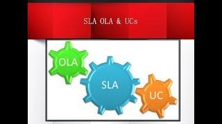 ITIL Foundation SLA, OLA & UCs