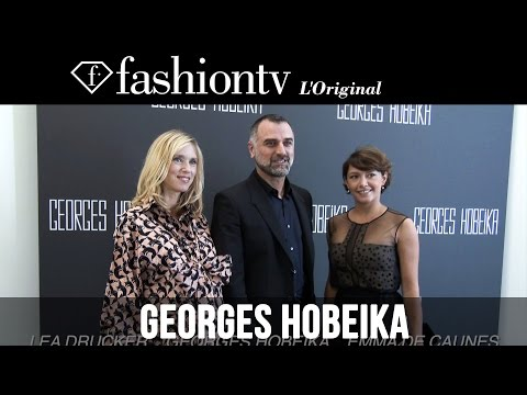 Georges Hobeika After Show ft Lea Drucker, Emma de Caunes | Paris Couture Fashion Week | FashionTV thumbnail