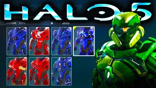 HALO 5 | ALL CUSTOMIZATION OPTIONS | ARMOR, SKINS, WEAPONS, EMBLEMS, MORE!