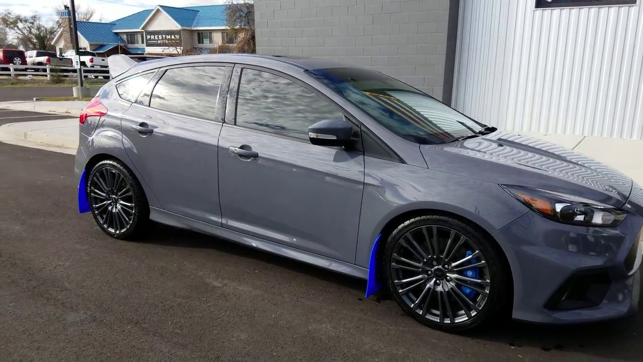 2017 Ford Focus Rs Walk Around In 4k