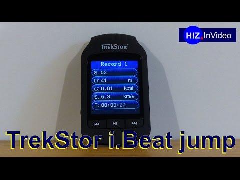 Trekstor i.Beat jump der musikalische Schrittzähler - HIZ088