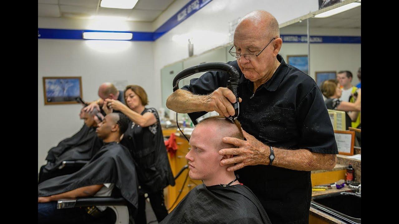 Haircuts At Air Force BMT YouTube