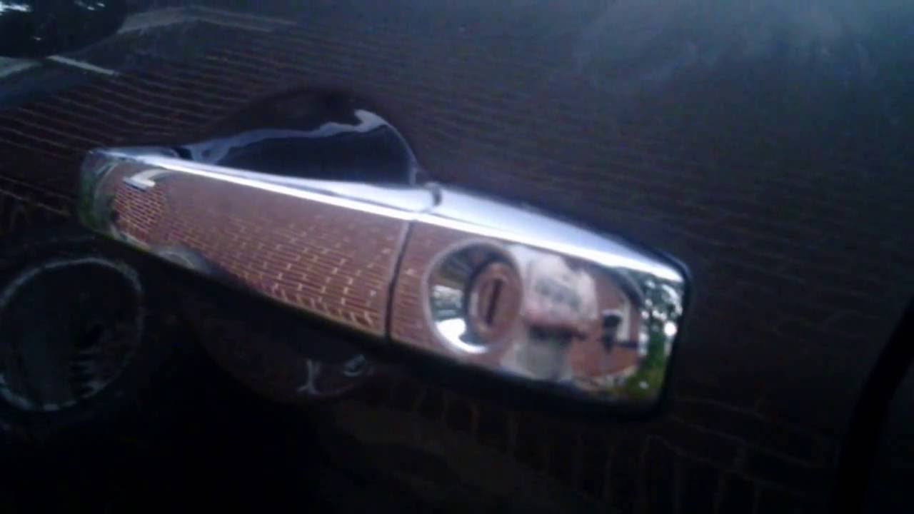 Picking A Chrysler 300 Door Lock