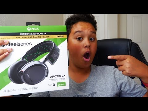 Steel Series Arctis 9x Headset Review and Unboxing