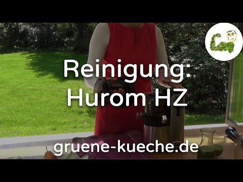 Hurom HZ Slow Juicer Teil 3 - Entsafter zerlegen und reinigen