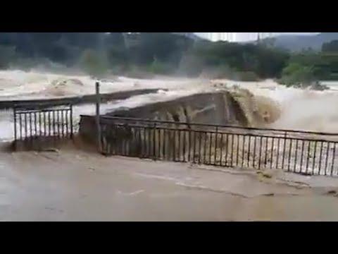Des inondations dans l'Aude provoquées par les rivières en crue