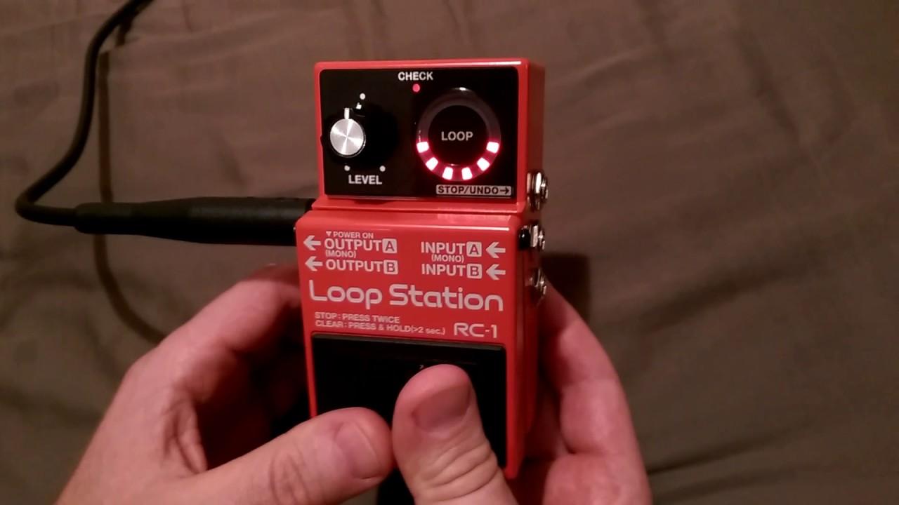 Boss Rc 1 Loop Station Tutorial Every Owner Must See Youtube Looper Wiring Diagram 110