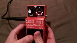 Boss RC-1 Loop Station tutorial every owner must see.