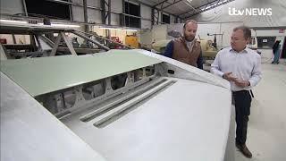 Aston Martin Bulldog supercar being restored   ITV News