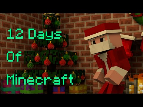 ♪ 12 Days Of Christmas: Minecraft Parody   Tealwolfy Gaming ♪