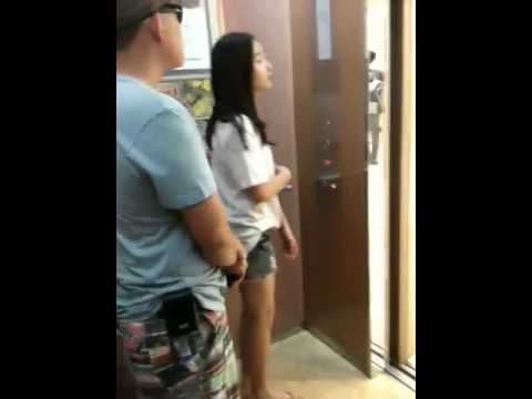 Địch trong thang máy lottee PMH