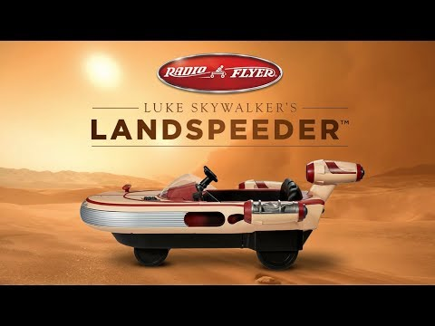 Radio Flyer Star Wars Landspeeder